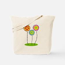 English Teacher Flowers Tote Bag