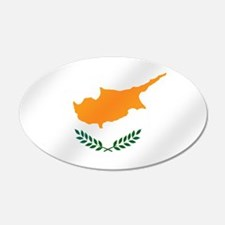 Flag of Cyprus Wall Decal