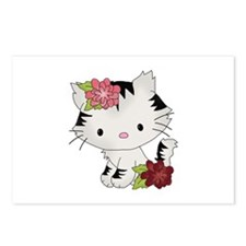 Cat Cuteness Postcards (Package of 8)