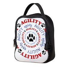 Agility Circle Neoprene Lunch Bag