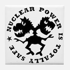 Nuclear Power Tile Coaster