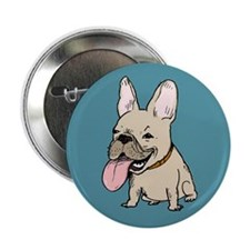 "Frenchie 2.25"" Button (10 pack)"