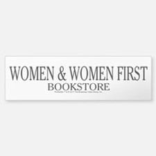 Women And Women First Portlandia Bumper Bumper Bumper Sticker