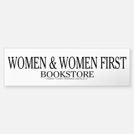 Women And Women First Portlandia Bumper Bumper Bumper Sticker