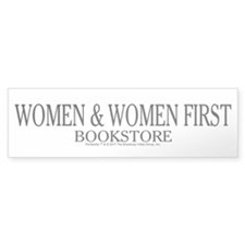 Women And Women First Portlandia Bumper Bumper Sticker