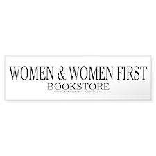 Women And Women First Portlandia Bumper Bumper Sticker