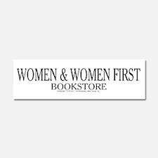 Women And Women First Portlandia Car Magnet 10 x 3