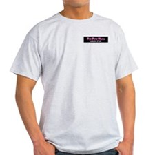 Pink Mafia Groupie Grey T-Shirt