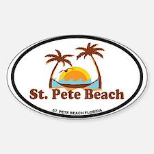 Boca Grande - Palm Trees Design. Decal