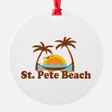 Boca Grande - Palm Trees Design. Ornament