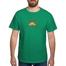 Boca Grande - Palm Trees Design. T-Shirt
