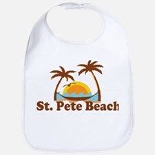 Boca Grande - Palm Trees Design. Bib