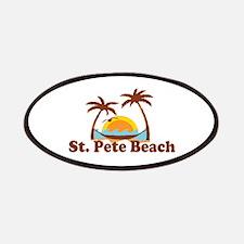 Boca Grande - Palm Trees Design. Patches