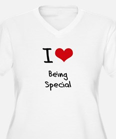 I love Being Special Plus Size T-Shirt