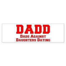 DADD-freshman-red Bumper Bumper Sticker