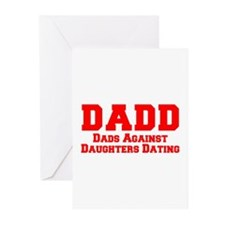 Cute Dads against daughter dating Greeting Cards (Pk of 20)