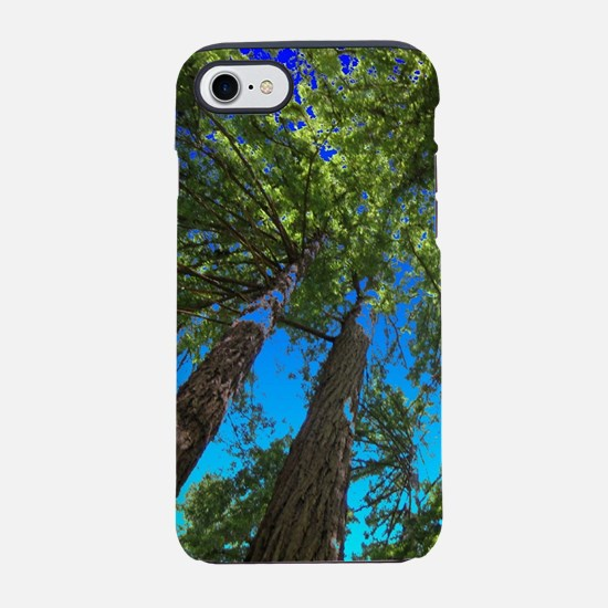 Muir Woods TreeTops In Deep Bl iPhone 7 Tough Case