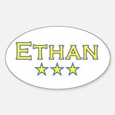 Ethan Oval Decal