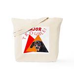 Dachshund Trouble Tote Bag