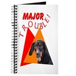 Dachshund Trouble Journal