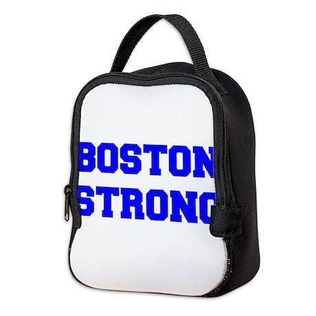 boston-strong-freshman-blue Neoprene Lunch Bag