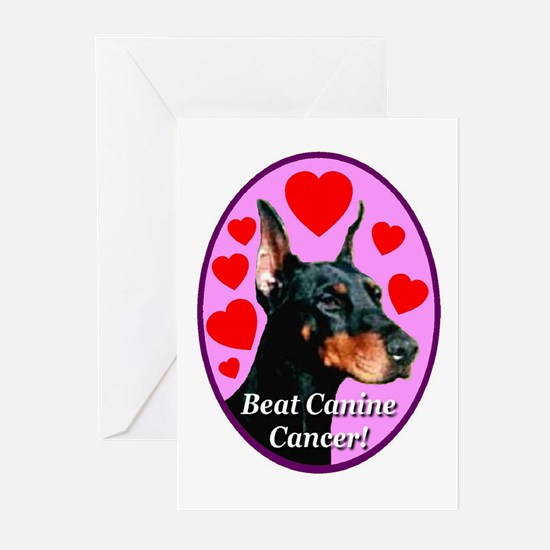 Beat Canine Cancer Greeting Cards (Pk of 10)