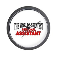"""""""The World's Greatest Personal Assistant"""" Wall Clo"""