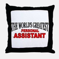 """""""The World's Greatest Personal Assistant"""" Throw Pi"""