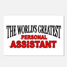 """The World's Greatest Personal Assistant"" Postcard"