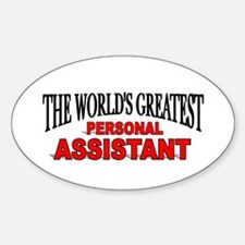 """""""The World's Greatest Personal Assistant"""" Decal"""