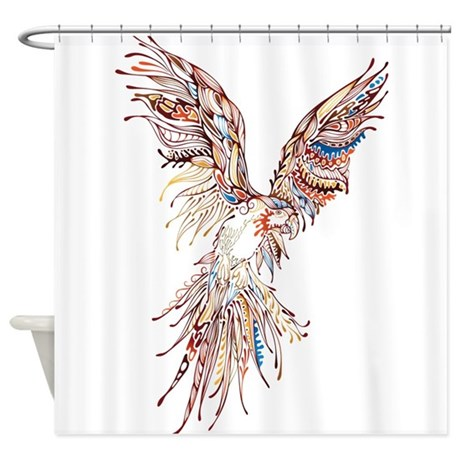 Animal Shower Curtain By Caidoked