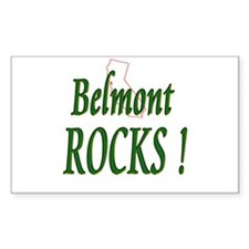 Belmont Rocks ! Rectangle Decal
