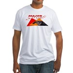 Dachshund Trouble Fitted T-Shirt