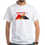 Dachshund Trouble White T-Shirt