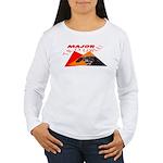Dachshund Trouble Women's Long Sleeve T-Shirt