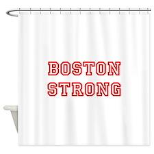 boston-strong-allstar-red Shower Curtain
