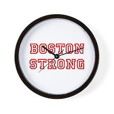 boston-strong-allstar-red Wall Clock