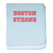 boston-strong-allstar-red baby blanket