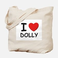 I love Dolly Tote Bag