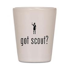 Boy Scout Shot Glass