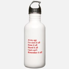 at-my-age-optima-red Water Bottle