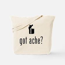 Back Pain Tote Bag