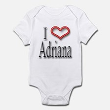 I Heart Adirana Infant Bodysuit