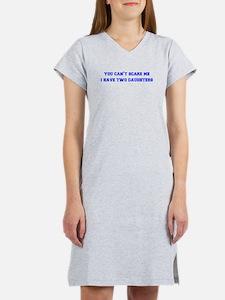 2-daughters-freshman-blue Women's Nightshirt