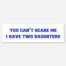 2-daughters-freshman-blue Bumper Bumper Bumper Sticker