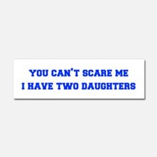 2-daughters-freshman-blue Car Magnet 10 x 3