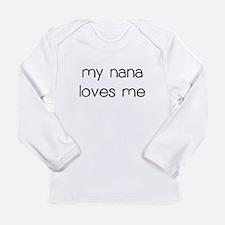 My Nana Loves Me Long Sleeve T-Shirt