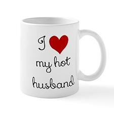 I LOVE MY HOT HUSBAND Small Mug