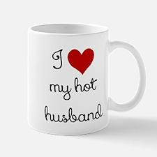 I LOVE MY HOT HUSBAND Small Small Mug
