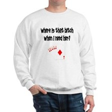 Where is that bitch? Sweatshirt